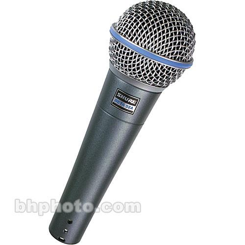 Shure BETA58A - Supercardioid Dynamic Mic BETA 58A