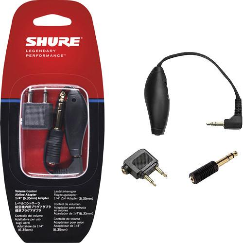 Shure EAADPT-KIT Headphone Adapter and Volume Control EAADPT-KIT