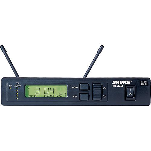 Shure ULXS4 Standard Wireless Receiver with PS40 ULXS4-J1