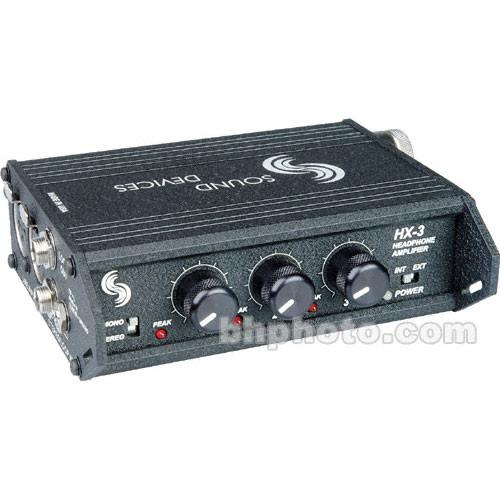 Sound Devices HX-3 - 3 Channel Portable Headphone Amplifier HX-3