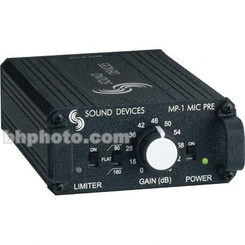 Sound Devices MP-1 - Single Channel Portable Microphone MP-1