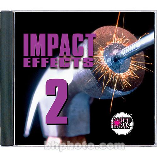 Sound Ideas Sample CD: Impact Effects 2 SI-IMPACT-2