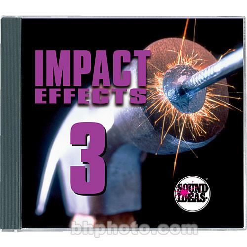 Sound Ideas Sample CD: Impact Effects 3 SI-IMPACT3