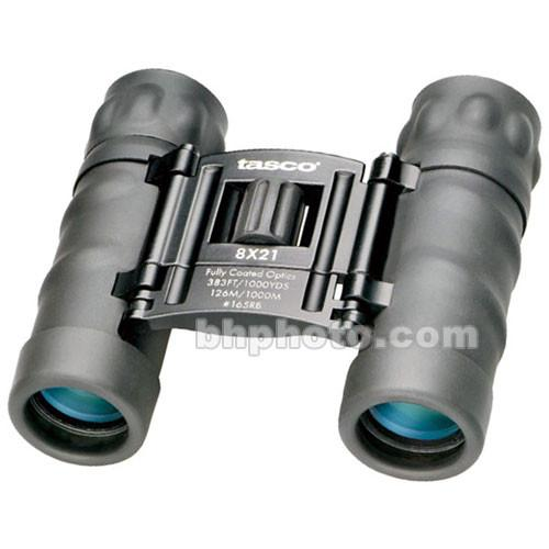 Tasco  8x21 Essentials Binocular (Black) 165RB