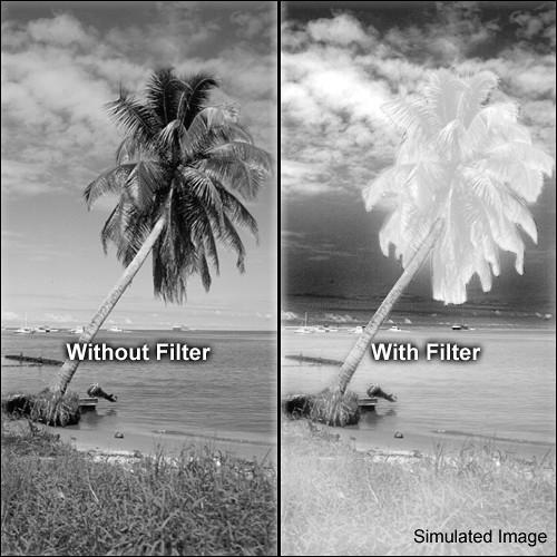 Tiffen  72mm #87 Infrared Filter 7287