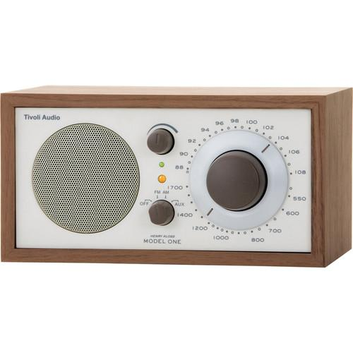 Tivoli Model One AM/FM Table Radio (Beige / Walnut) M1CLA