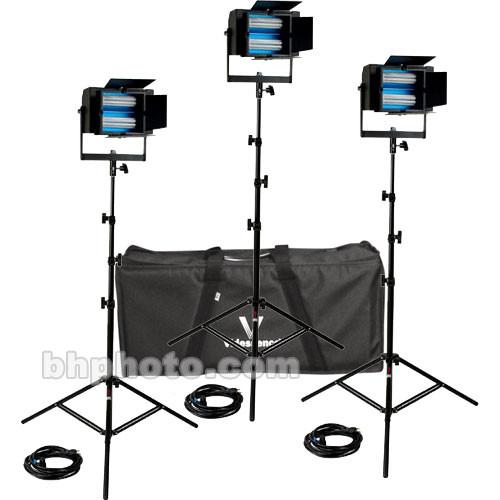 Videssence Baby Base Fluorescent 3 Light Kit - Non KB3084-SB-ND