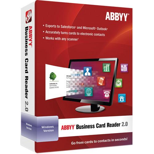 ABBYY Business Card Reader 2.0 for Windows FRLBCRDFW2XE