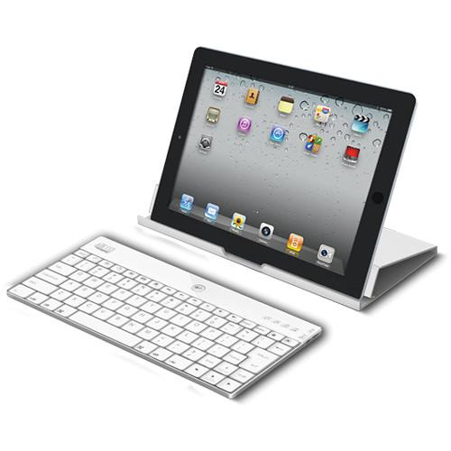Adesso Aluminum Bluetooth Keyboard with Universal WKB-1000XW