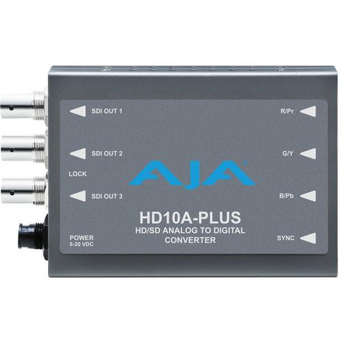 AJA HD10A-Plus Analog to HD/SD-SDI Mini-Converter HD10A-PLUS