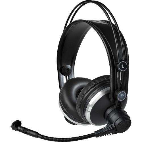 AKG HSC171 Professional Headset with Condenser 2955X00280