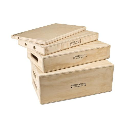 Alan Gordon Enterprises Set of Four Apple Boxes 1065-SET