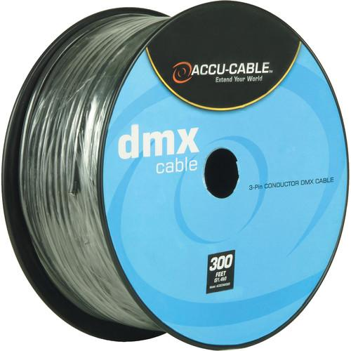 American DJ Accu-Cable 3-Pin DMX Cable Spool (300') AC3CDMX300