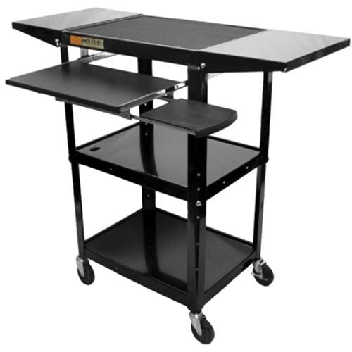 AmpliVox Sound Systems SN3370 Adjustable Height Metal Cart