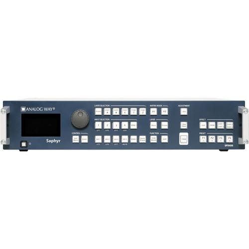 Analog Way Saphyr SPX450 Multi-Layer Mixer Seamless SPX450