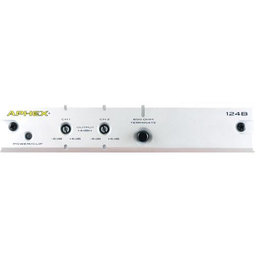Aphex Model 124B 2-Channel Audio Level Interface 124B