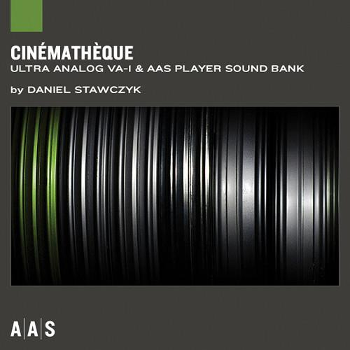 Applied Acoustics Systems Cinematheque Sound Bank and AAS AA-CTQ
