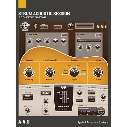 Applied Acoustics Systems Strum Acoustic Session - AA-SASE