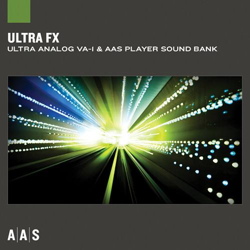 Applied Acoustics Systems Ultra FX Sound Bank and AAS AA-ULFX