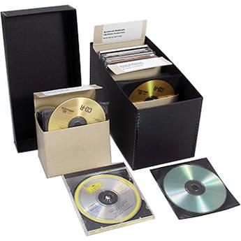 Archival Methods CD/DVD Storage Complete Kit with 100 60-2553