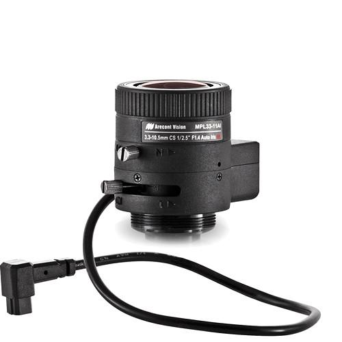 Arecont Vision CS-Mount 3.3 to 10.5mm Varifocal MPL33-11-AI
