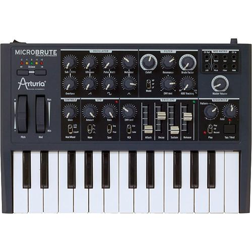 Arturia  MicroBrute Analog Synthesizer 540101