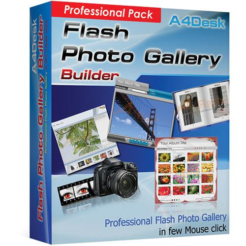 Avanquest A4Desk Flash Gallery Builder - A4DESKFGBPRO4