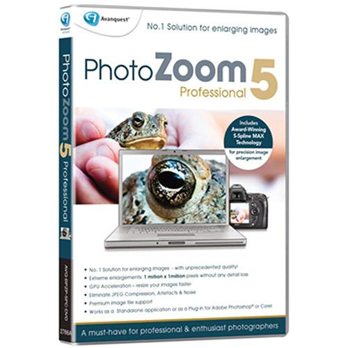 Avanquest  PhotoZoom Pro 5 for Windows PZOOM5WIN