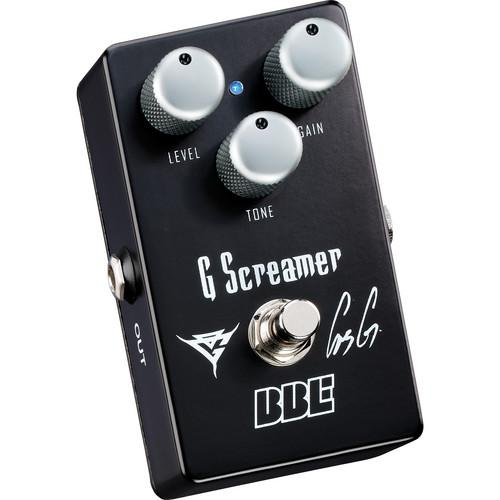 BBE Sound G Screamer OG-1 Gus G Signature Overdrive G SCREAMER