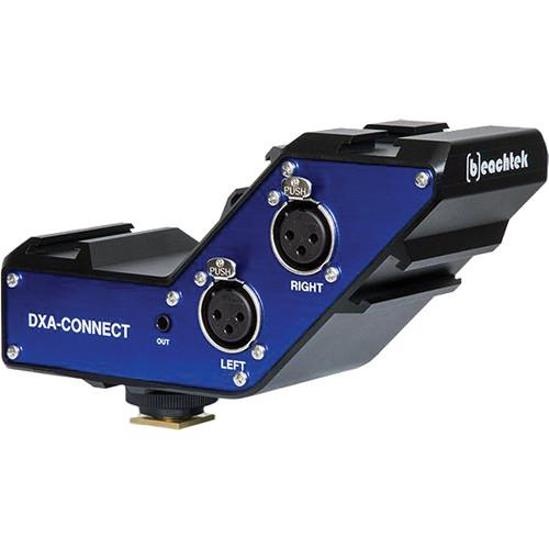 Beachtek DXA-CONNECT XLR Adapter / Bracket Combo DXA-CONNECT