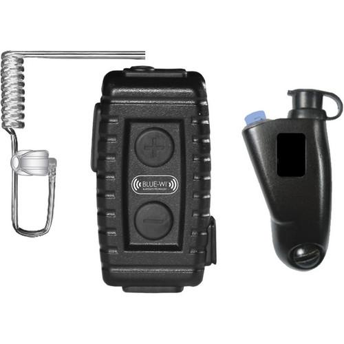 BLUE-WI Nighthawk Tactical Bluetooth Lapel Mic and BW-NT5033
