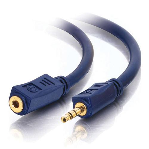 C2G Velocity 3.5mm Male/Female Stereo Audio Extension 40948