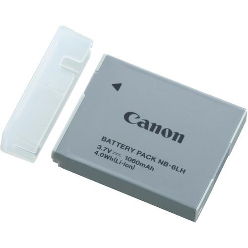 Canon NB-6LH Lithium-Ion Battery Pack (3.7V, 1,060mAh) 8724B001