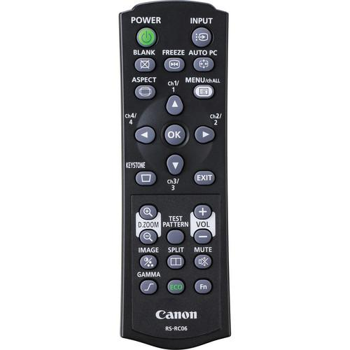 Canon RS-RC06 Remote Controller for REALiS Pro AV 8381B001