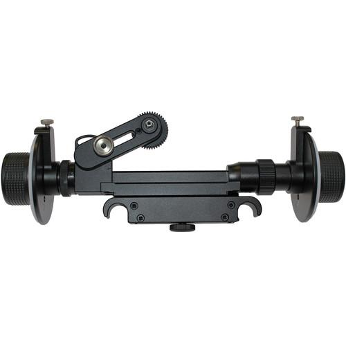 Cavision Dual Wheel Follow Focus for 15/100mm Rods RFA15100-D7C