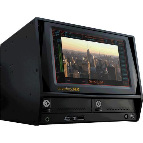 Cinedeck RX3G/AES Multi-Format Multi-Channel 10000-RX3G