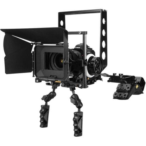 Cinevate Inc DSLR Deluxe Package with Shoulder Mount CIDELUXE01