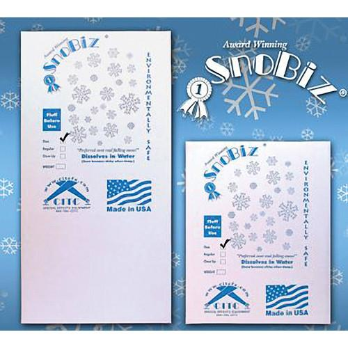 CITC SnoBiz Close-up Biodegradeable Artificial Snowflakes 100291