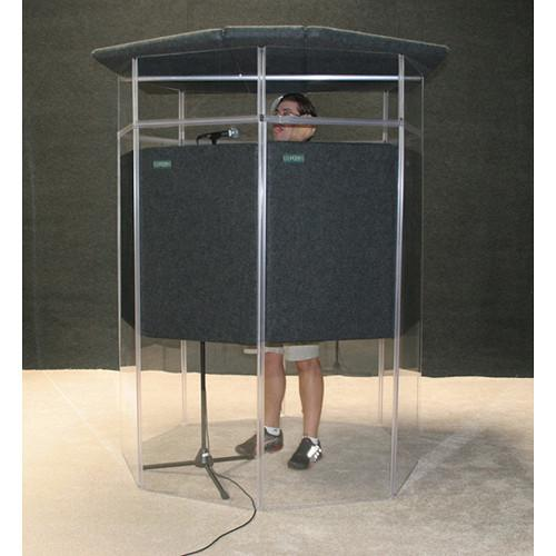 ClearSonic IsoPac J Vocal & Instrument Isolation Booth IPJD