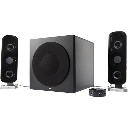 Cyber Acoustics CA-3908 2.1 Channel Powered Speaker CA-3908