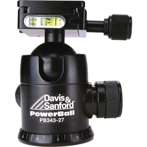Davis & Sanford PB343-27 Powerball Ballhead with 3 PB343-27