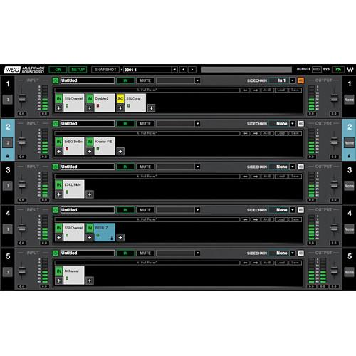 DiGiGrid Waves MultiRack SoundGrid Plug-In Platform MRSG