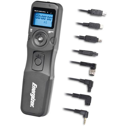 Energizer Multi-Fit LCD Timer Remote Shutter Release ENS-LCDU
