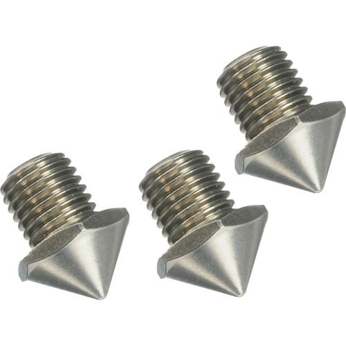 FEISOL Three Short Stainless Steel Spikes SHORT SPIKE