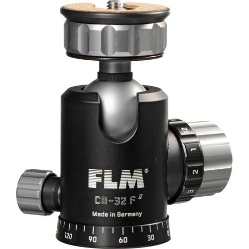 FLM CB-32F Ball Head with PRP-45 QR Plate 12 32 909