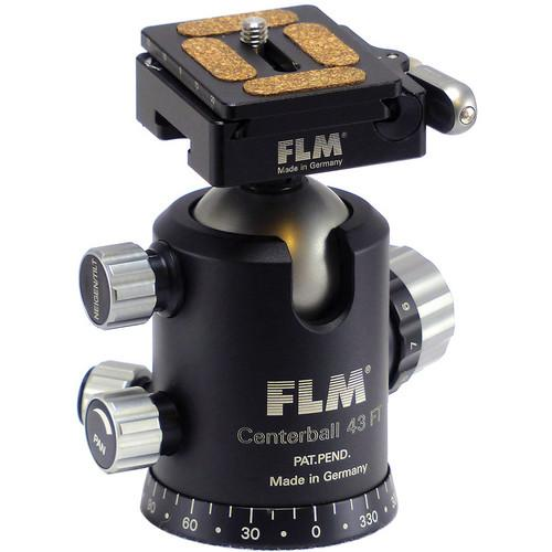 FLM CB-43 FTR Ball Head with QRP-50 Quick Release 12 43 909