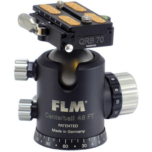 FLM CB-48 FTR Ball Head with QRP-70 Quick Release 12 48 909