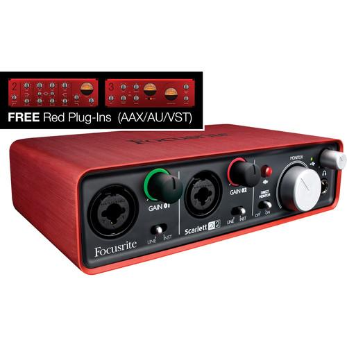 Focusrite Scarlett 2i2 USB Interface and Recording Accessories