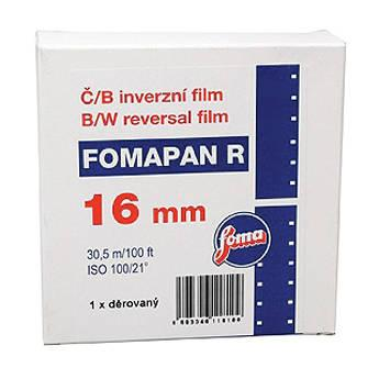 Foma Fomapan 16mm R100 B&W Single Perforated Reversal 411810