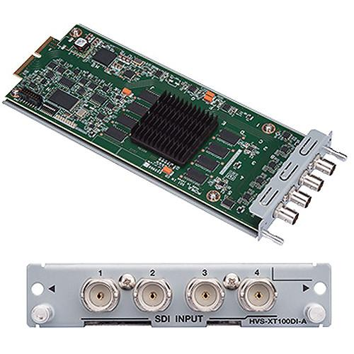 For.A HVS-XT100DI 4-Channel HD/SD-SDI Input Card HVS-100DI
